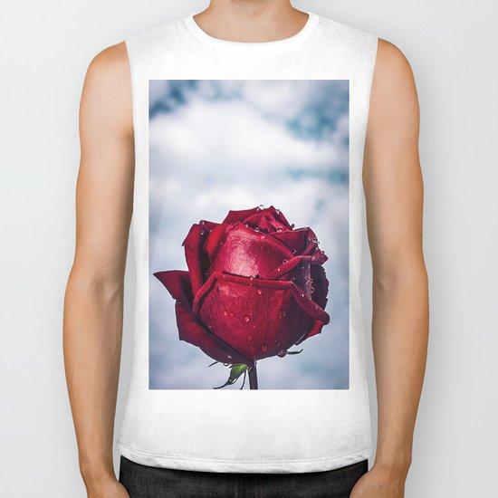 rose Biker Tank