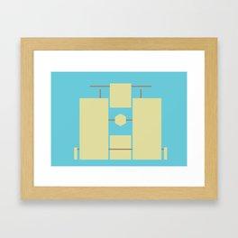Solemn Gate Framed Art Print