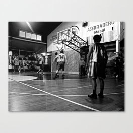 Chilean Basketball Canvas Print
