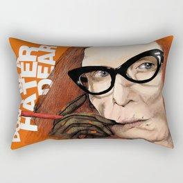 Myrtle Snow || Don't be a hater, dear (from American Horror Story: Coven) Rectangular Pillow