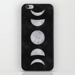 Lunar Phases iPhone Skin