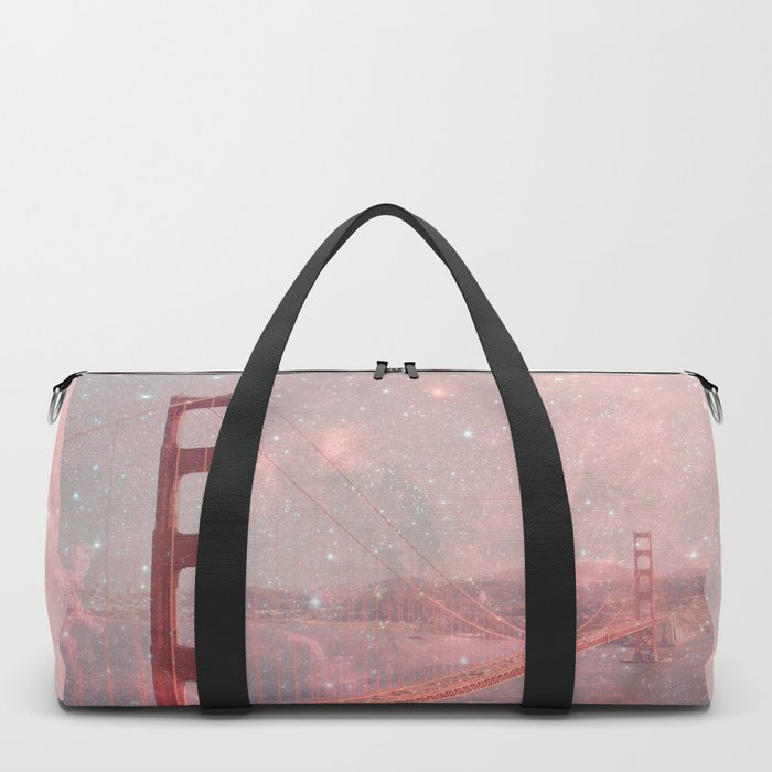 Stardust Covering San Francisco Duffle Bag