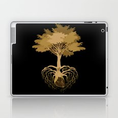 Heart Tree - Orange Laptop & iPad Skin