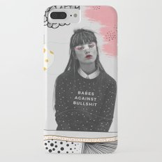 Babes Against Bullshit iPhone 7 Plus Slim Case