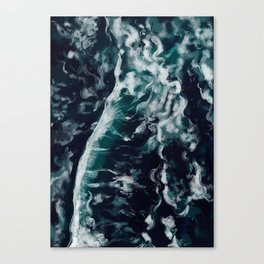 The Ocean Waves Canvas Print