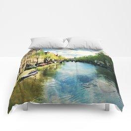 Amsterdam Waterways Comforters