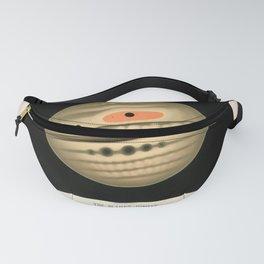 Jupiter by Étienne Léopold Trouvelot (1880) Fanny Pack