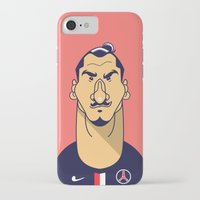 zlatan iPhone & iPod Cases featuring Zlatan portrait by Rudi Gundersen