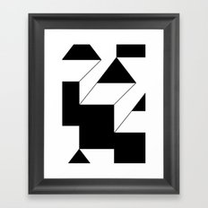 haus 1 Framed Art Print