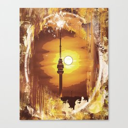 Belgrade - Avala - Graphics Canvas Print
