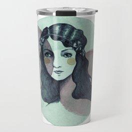 Vintage Girl Travel Mug