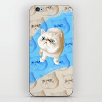 kirby iPhone & iPod Skins featuring Kirby Littledumdums by EggsBFF