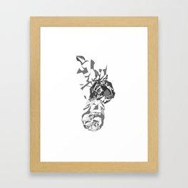 Crimps Framed Art Print