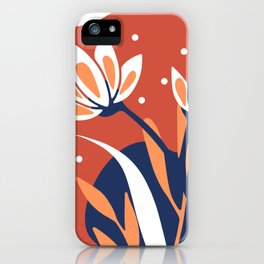 Nature Geometry 04 iPhone Case