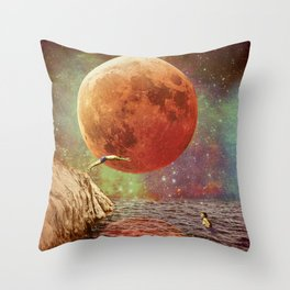 Belle de Jour Throw Pillow