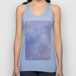 cotton candy clouds Unisex Tank Top