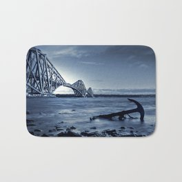 The Forth Rail Bridge Scotland Bath Mat