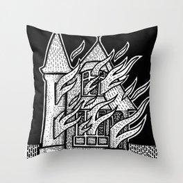 Burn Mother F##ker, Burn Throw Pillow