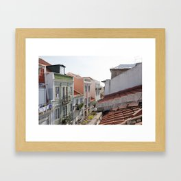 The Alfama, Lisbon Framed Art Print