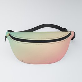 Gradient Colours: Turquoise Pink Pastel Fanny Pack