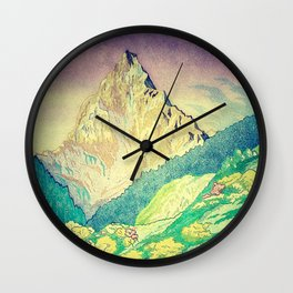 Sleeping in Colours at Minna Wall Clock