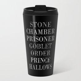 Titles with a Twist Travel Mug