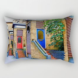 Stairs to Nowhere  -  Greenwich London Rectangular Pillow