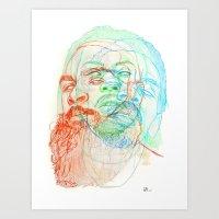 The Glorious Dead Art Print