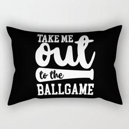 Baseball Baseball Fan Baseball Game Sports Rectangular Pillow