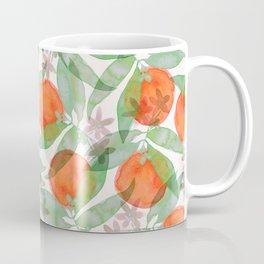 orange print Coffee Mug