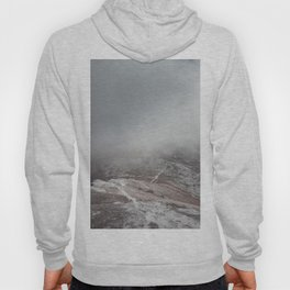 Winter trail - Landscape and Nature Photography Hoody