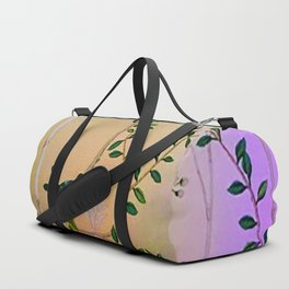 Chinoiserie Style Duffle Bag