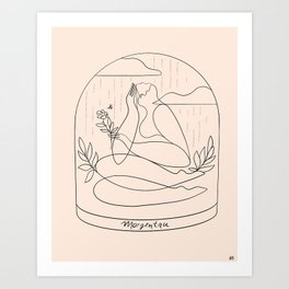 Morgentau (morning dew) Art Print