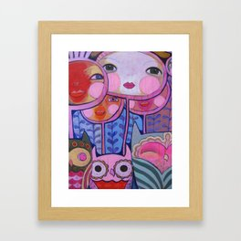 Colorful Us  Framed Art Print