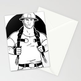 Hard hat Stationery Cards