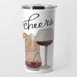 Cheers - Dark Drinks Travel Mug