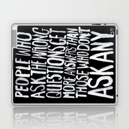 ANSWERS Laptop & iPad Skin