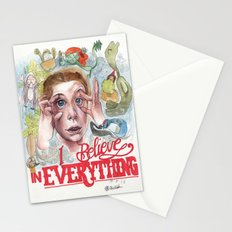 I BELIEVE IN EVERYTHING Stationery Cards