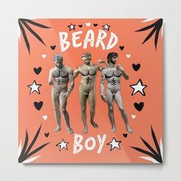 Beard Boy: Adonis 2 Metal Print