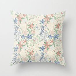 Caladenia Throw Pillow