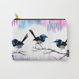 Pink and Purple Carry-All Pouch
