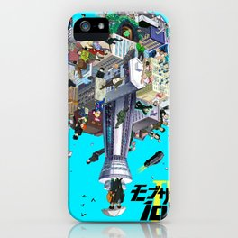 mob psycho 100 iPhone Case