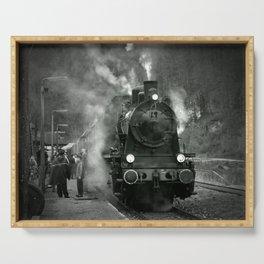 Steam Engine Serving Tray