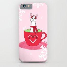 Llove In A Cup iPhone Case