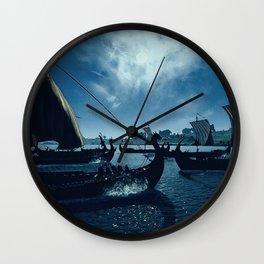 Drakkar Wall Clock