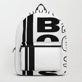 Boss sign Backpack