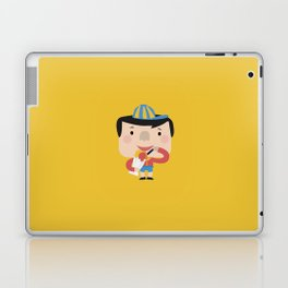 Ice Cream Please (Yellow Tales Series) Laptop & iPad Skin