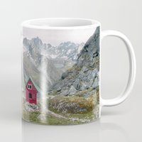 mint Mugs featuring Mint Hut by Kevin Russ