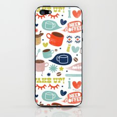 Caffeine Addict iPhone & iPod Skin