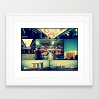 singapore Framed Art Prints featuring Singapore by Tal Bright